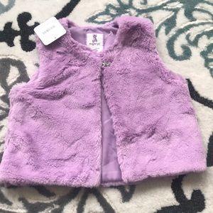 Gymboree Purple soft Vest